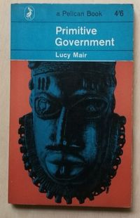 primitive government, lucy mair, a pelican book