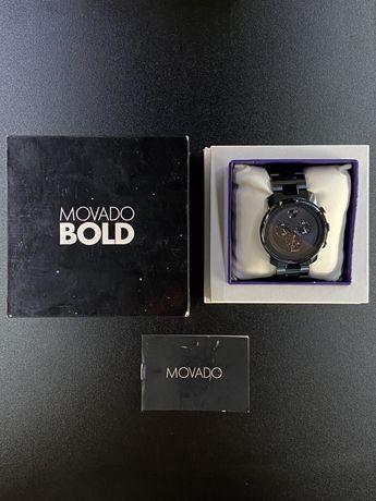 Щвейцарський годинник Movado Bold Blue Metals 44mm