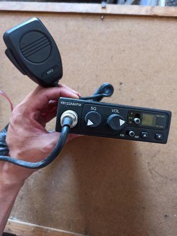 Zestaw CB radio oraz antena