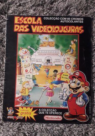 Caderneta Escola das VideoLoucuras