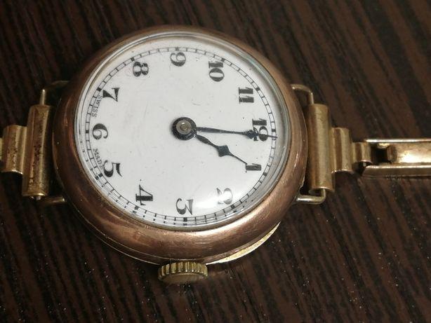 Золотые часы Вuren 1905 год