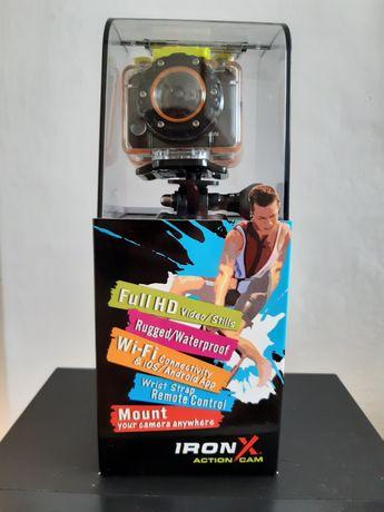 Nowa kamera sportowa Iron x action cam Full HD