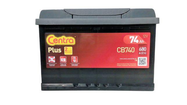 Akumulator Samochodowy Centra Plus 74Ah/680A