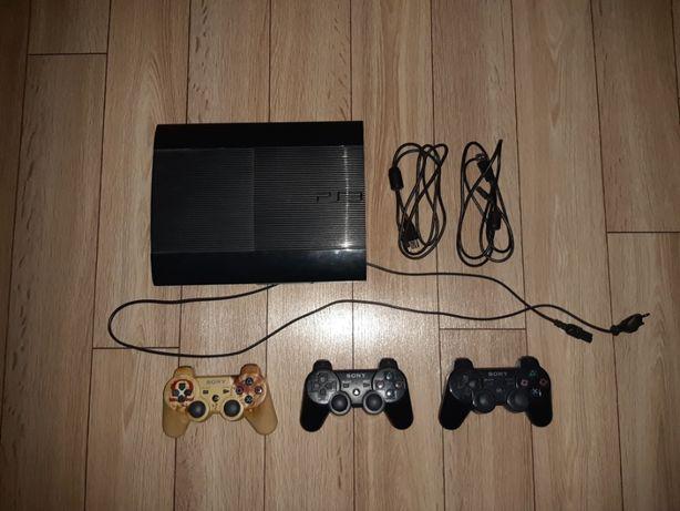 PlayStation 3 + 3 kontrolery + 25 gier
