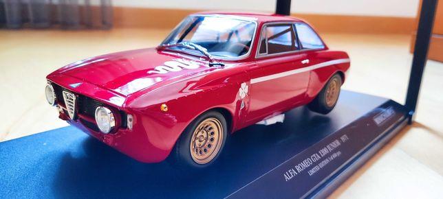 Miniatura 1:18 Alfa Romeo Giulia 1300 GTA  Minichamps