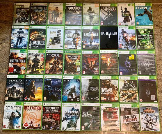 Диски Игры Xbox 360 - Лицензия!