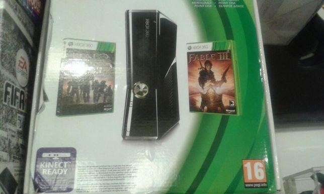 Konsola Xbox 360 Slim 250 GB + GRY