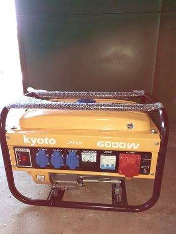 Бензиновий генератор KYOTO 6000W