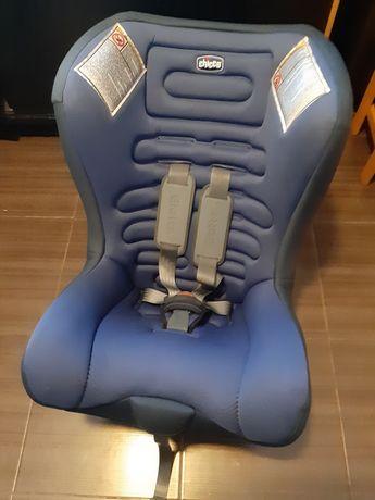Автокрісло синє chicco eletta 0-18kg