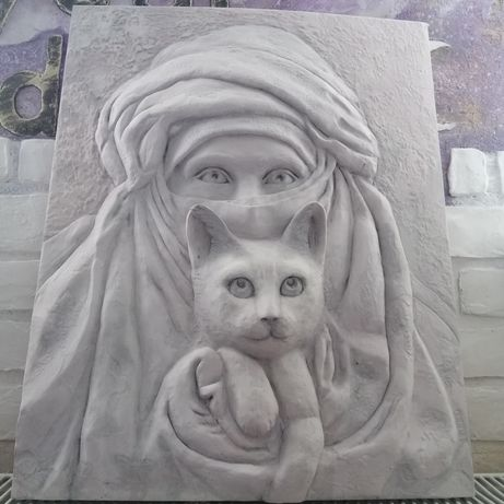 Картина-Барельеф