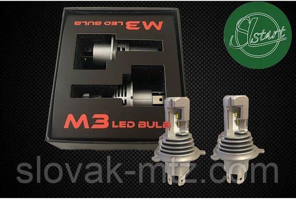 LED лампа PROLIGHT M3 H4 55W 6500K (2 шт.)-ZES