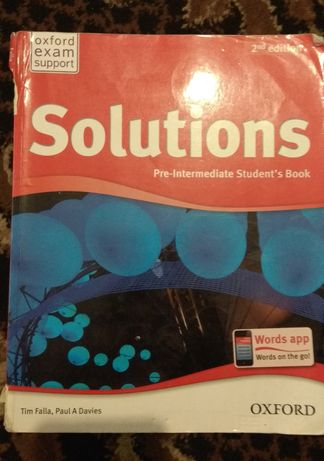 Solutions 2, students book