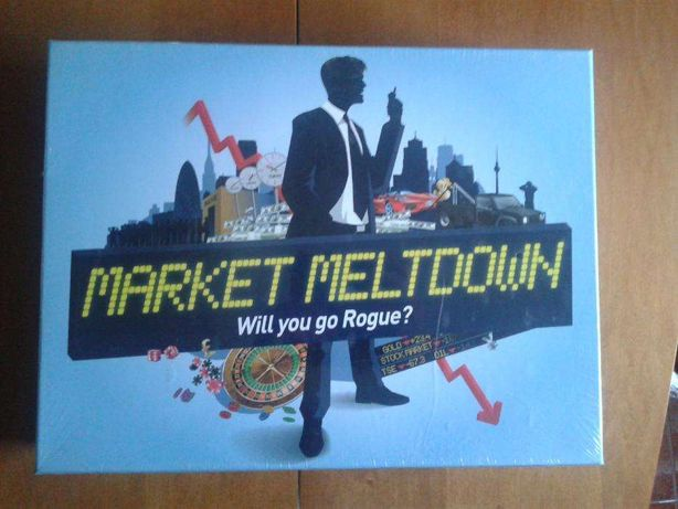 Jogo de tabuleiro Market Meltdown