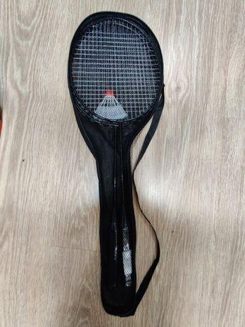 Nowy zestaw do badmintona (dwie paletki i lotka) np. na prezent