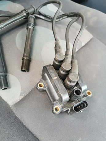 Cewka zapłonowa kable Renault modus 04-08r clio III 1.2 16v ben d4f