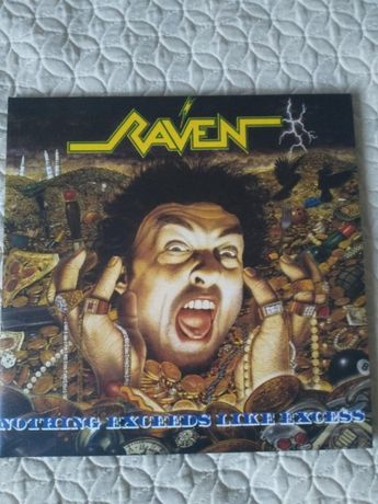 Raven - nothing like excess LP NM NM