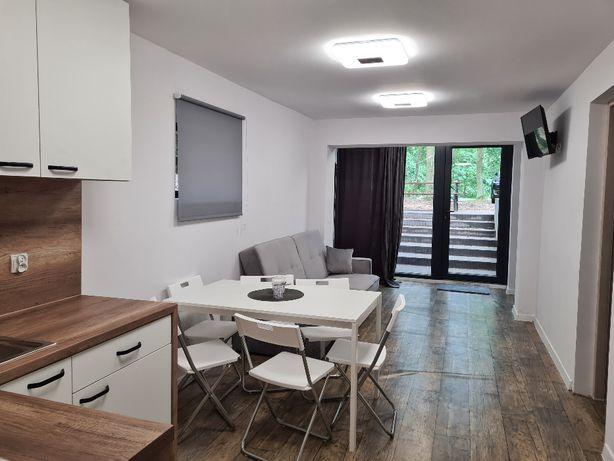 4 - 9 osób WIDOK NA JEZIORO Nowy Apartament w parterze Tramp