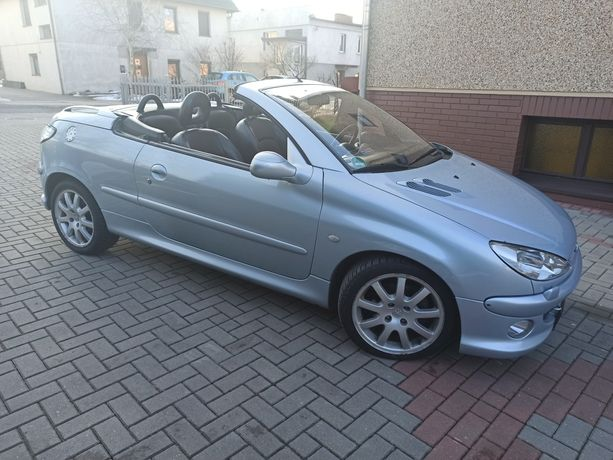 Peugeot 206  2.0 benzyna 2001 rok