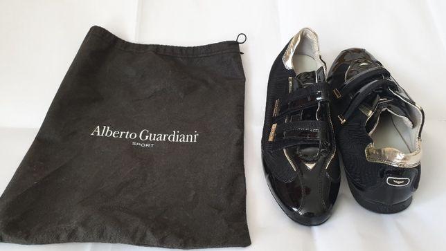 Buty stylowe sportowe lakierki sneakersy Alberto Guardiani Sport r. 43