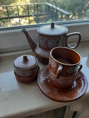 Zestaw kawowy 2os porcelana