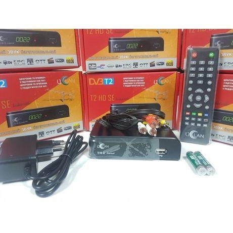 Новый Uclan T2 HD SE DVB-T2 эфирный тюнер Т2 приемник приставка