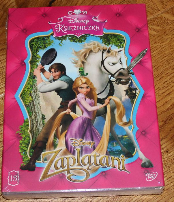Zaplątani - bajka DVD Disney Gliwice - image 1