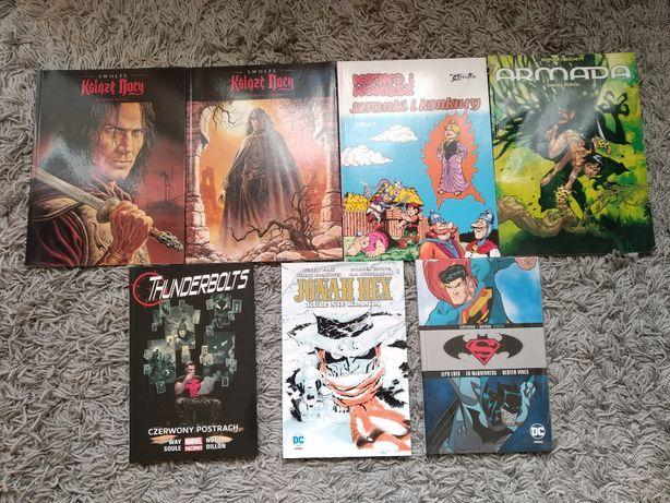 Komiksy DC/Marvel Batman, Supermen, Liga Sprawiedliwości
