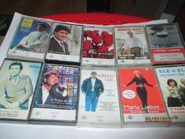 7 cassetes audio originais