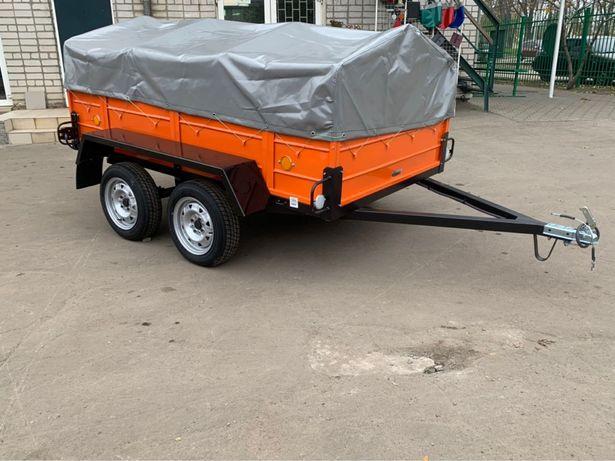 Прицеп ЛЕВ-300 двухосный легковой по выгодной цене от завода