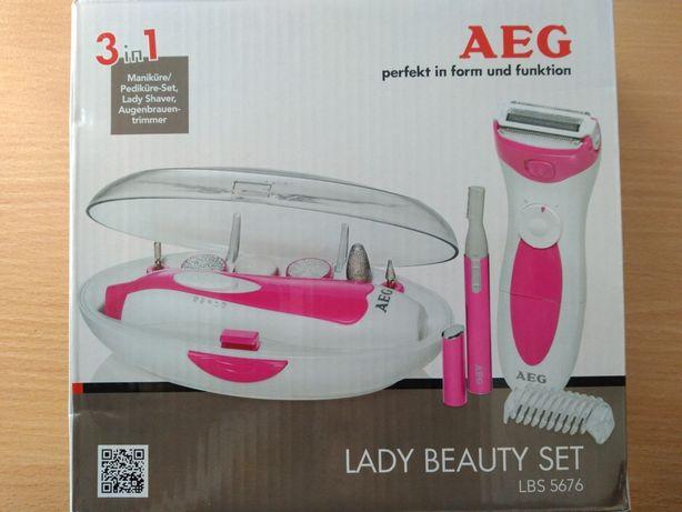 Zestaw do manicure i pedicure AEG