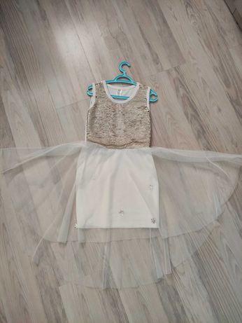 Платье в сад 4-5 лет