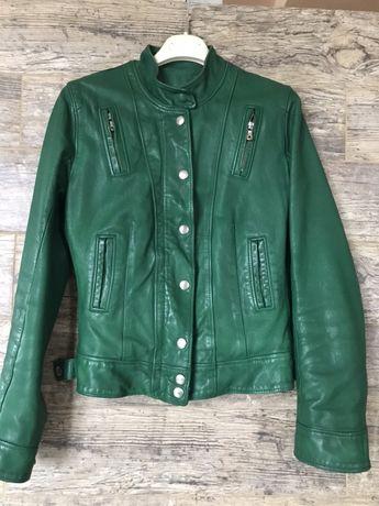 Кожаная  куртка Dolce & Gabbanа   100% оригинал