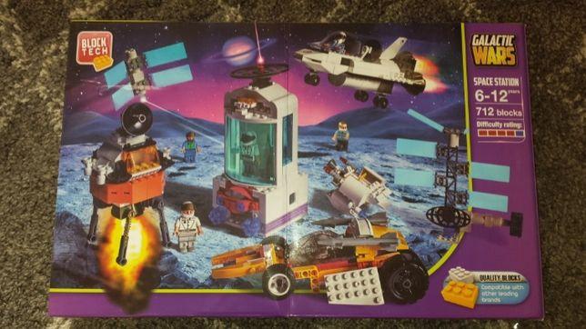 Klocki Block Tech 712szt, Stacja Kosmiczna, kompatybilne z LEGO (nowe)