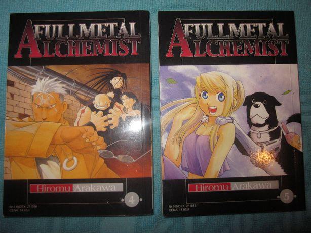 Komiks mangha po polsku Alchemist Fullmetal x 2