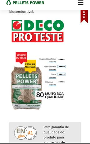 Pellets power 15kg