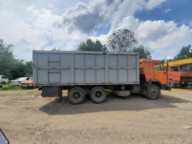 Кузов зерновоз с КАМАЗа