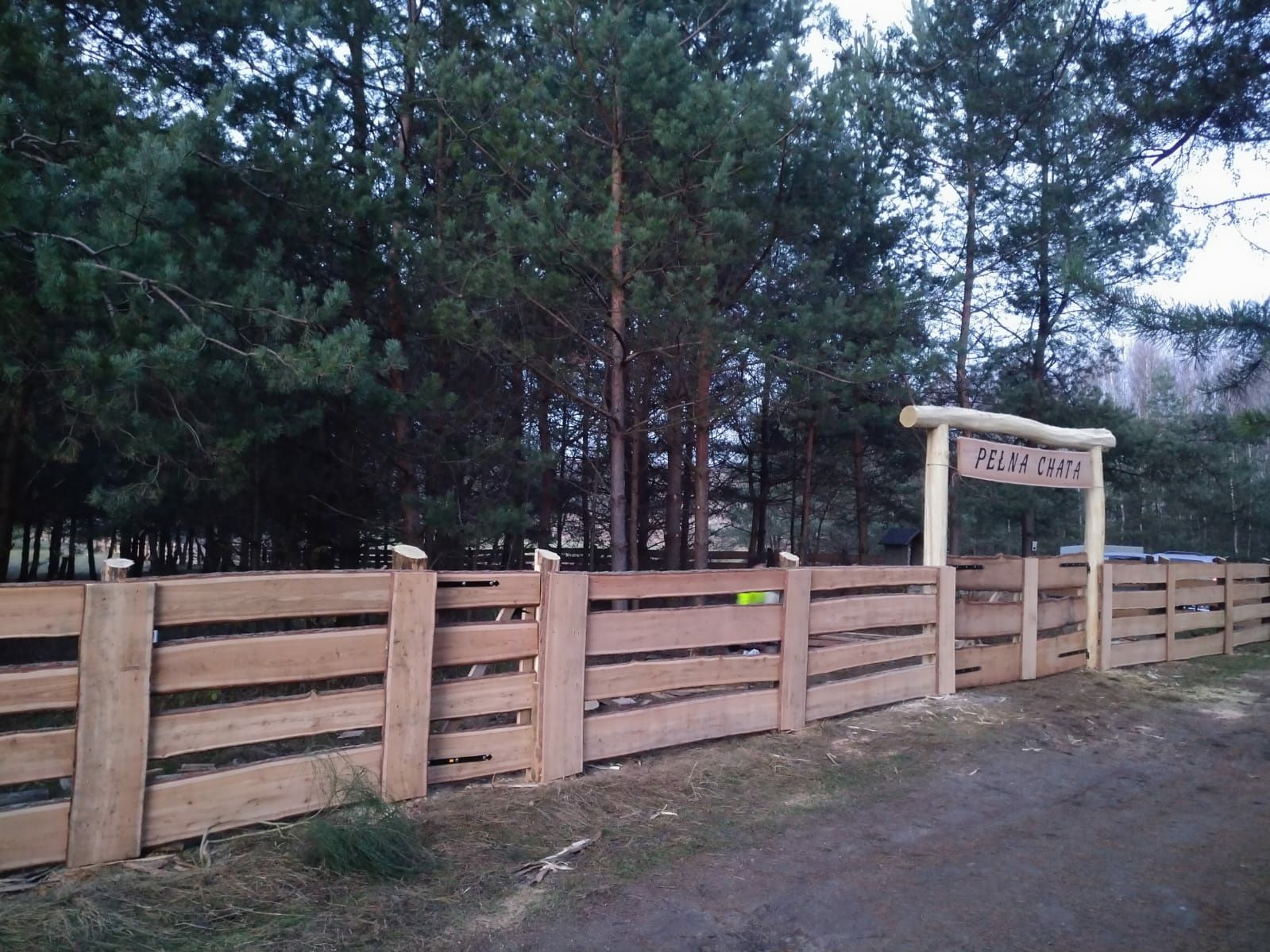 Ogrodzenie typu ranczo