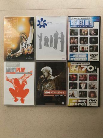Conjunto 6 DVD's Música