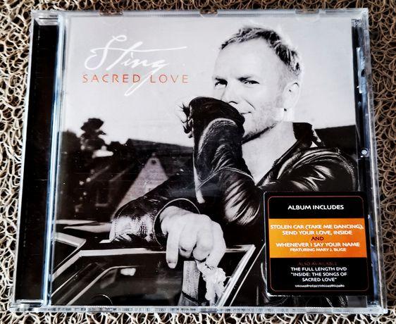 Płyta album Includes Sting Sacred Love + DVD A & M Records 2004