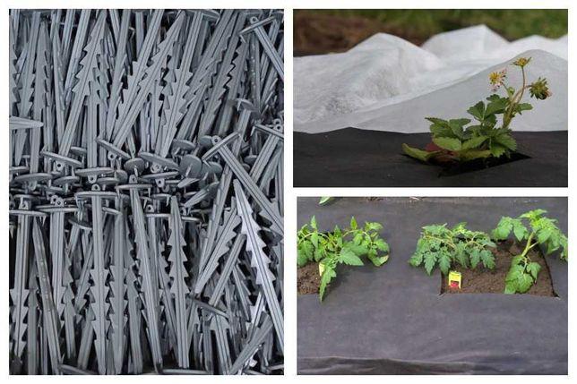 Колышки садовые для крепления агроволокна, 100 шт
