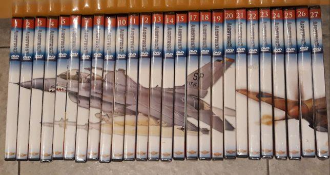 Samoloty świata Airstrike Aviator Collection  Zestaw 23 płyt DVD