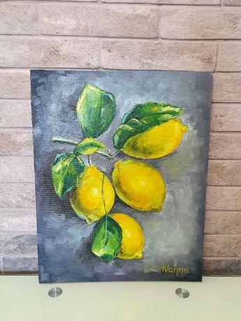 """Картина """"Лимоны"""" (Авторская работа)"""
