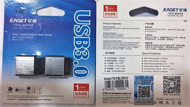 Флешка 256Gb Гб Eaget F90 Metal USB 3.0 флеш память, флэшка