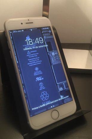 Iphone 6s 16gigas branco rose gold