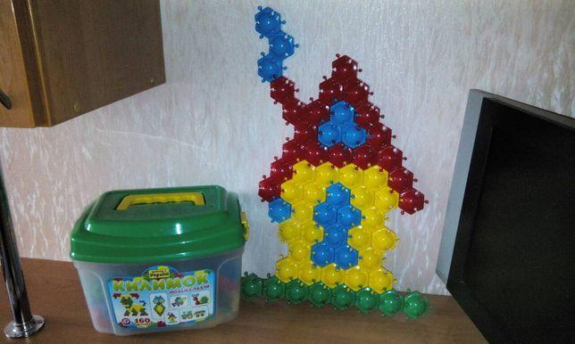 Мозаика конструктор детский конструктор 160 деталей килимок пазлы