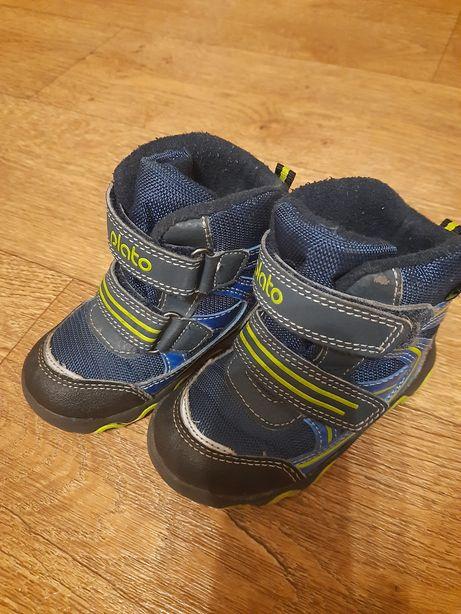 Демисезонные сапожки ботинки на мальчика 22,5 размер