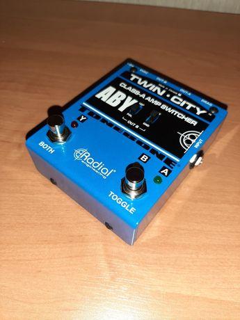 Radial Twin City Amp Switcher Guitar Splitter* Shotgun * Palmer PGA 03