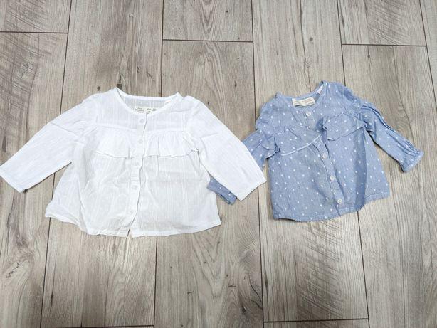 Bluzeczki Zara 3-6 mc