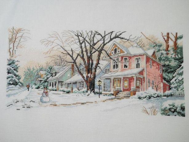 Продам копию схемы Dimensions 13713 Зима на главной улице