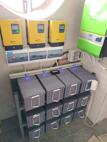 Сонячні електростанції, резервне електроживлення.